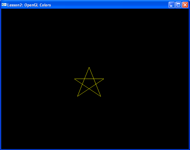 Drawing Lines With Opengl : Coloring opengl tutorial by osama hosam codersource