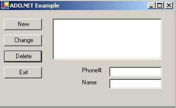 adonet_ed_figure1 Visual Basic Forms With Add Change Delete Ons Examples on